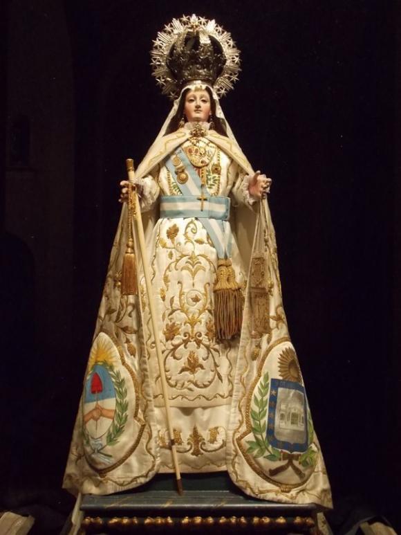 Virgen maria como nuestra señora de la merced