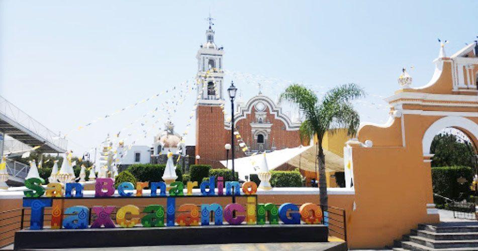 Parroquia San Bernardino Tlaxcalancingo puebla