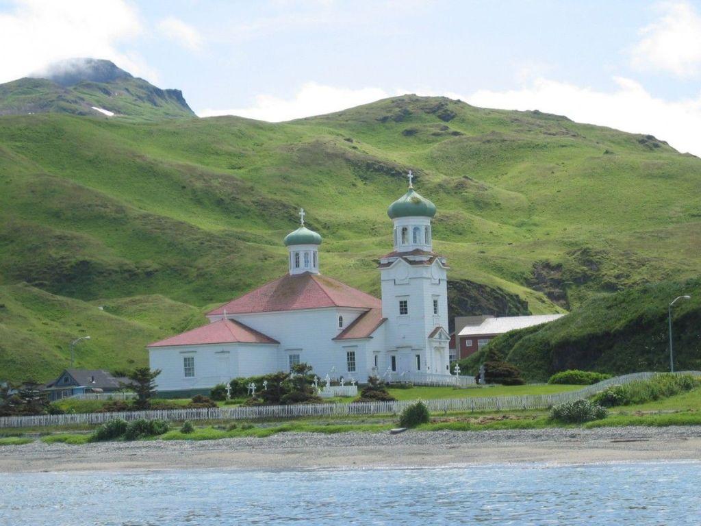 La Iglesia de la Santa Ascensión, Unalaska (Alaska)