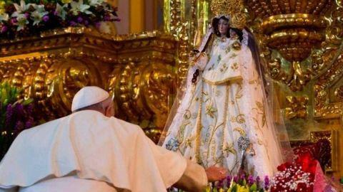 Virgen de El Quinche y la visita de Francisco en 2015