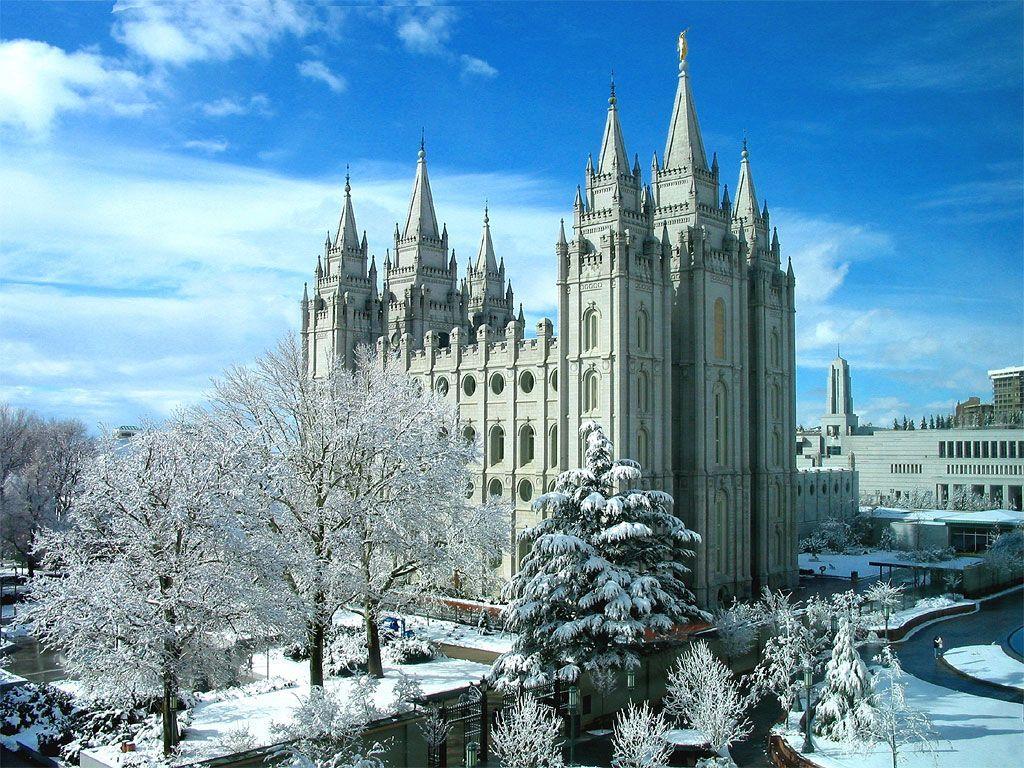 Templo de Salt Lake: Salt Lake City, Utah Estados Unidos de America
