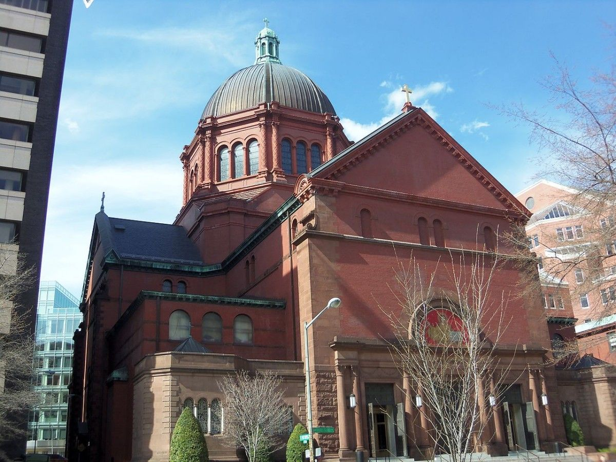 Catedral de San Mateo en Washington DC