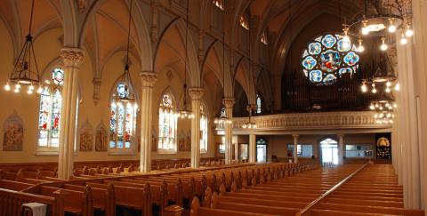 Iglesia Católica de Santa María, Rhode Island