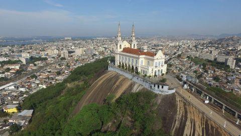 Santuario Nossa Senhora da Penha turismo religioso en brasil
