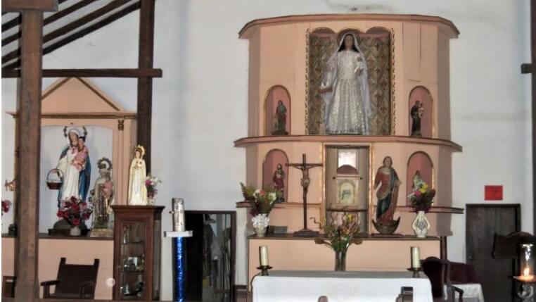 retablo capilla virgen de la candelaria
