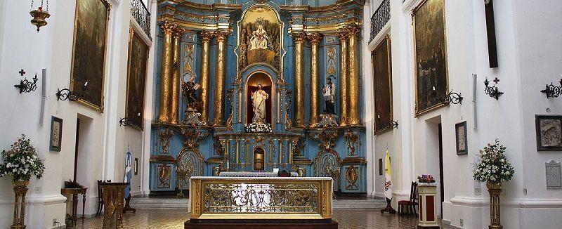 Parroquia San Ignacio de Loyola en el Casco Histórico de Buenos Aires