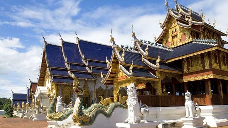 Wat Ban Den turismo relgioso pagodas