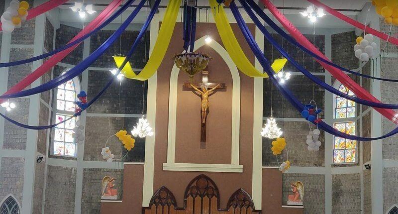 La Catedral Sagrado Corazón en Shivamogga