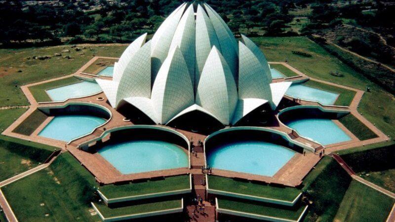 Nueva Delhi, India y su Casa Bahaí