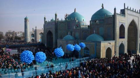 celebración del Nowruz en lo que fue la antigua persia