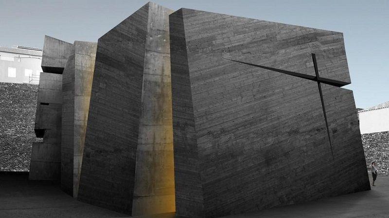 Iglesia del Santo Redentor arquitectura vanguardista