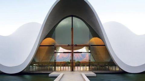 portada arquitectura vanguardista turismo religioso
