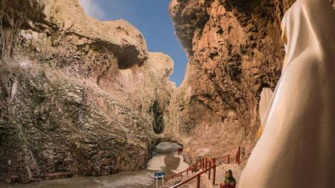 celebraciones religosas gruta de lourdes puerto desesado