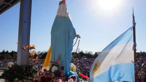 virgen de san Nicolas peregrinaciones