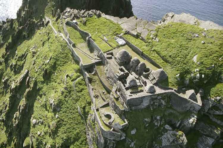 Monasterio de St Fionan en irlanda
