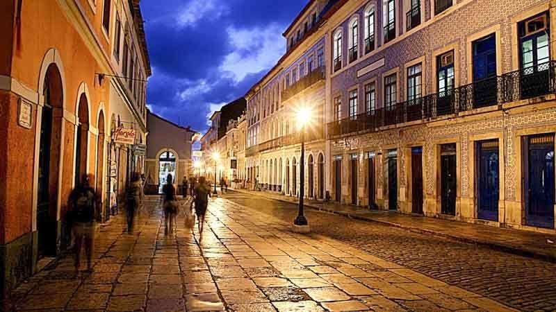 calles de maranhao en brasil