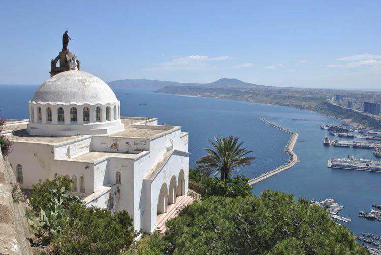 capilla Santa Cruz en Oran
