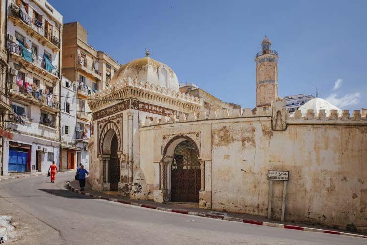 mezquita de pacha en oran