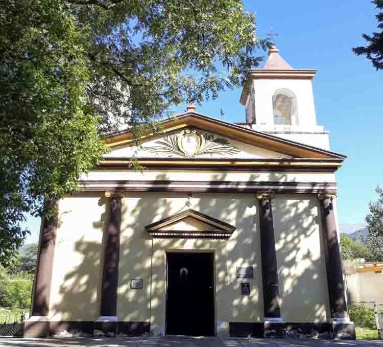 Turismo Religioso en Catamarca. Ubicado frente a la plaza de Miraflores originariamente fue creada bajo el patronazgo de Santa Ana, luego con la reforma del calendario litúrgico propuesta por el Concilio Vaticano II, en 1969 se resolvió unir la conmemoración de San Joaquín y Santa Ana.