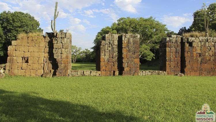 a el Sitio Arqueológico de São João Batista. La reducción fue fundada en 1697, y se destacó por su alto grado de desarrollo cultural y por su labor pionera en metalurgia