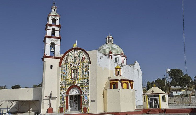 Parroquia del Divino Salvador, Tlaxcala Foto Alejandro Linares Garcia