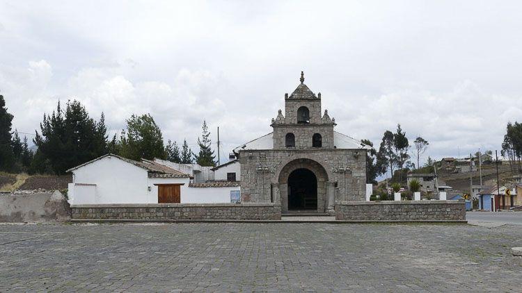 La Balbanera, hoy, la primera iglesia católica de Ecuador