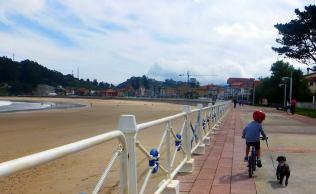 Playa Santa Marina en Ribadesella