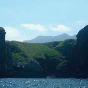 Acantilados Riosellanos desde el mar