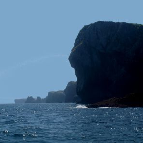 Asturian Cliffs from the sea