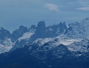 Urriellu peak in Picos de Europa mountains