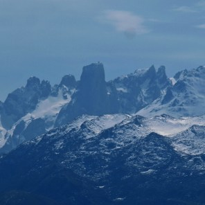 Urriellu peak in Picos de Europa mountains