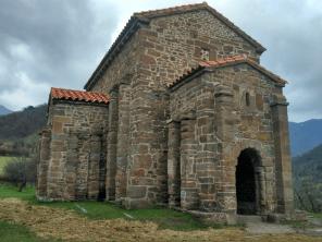 Romanesque art in Asturias. Santa Cristina de Lena