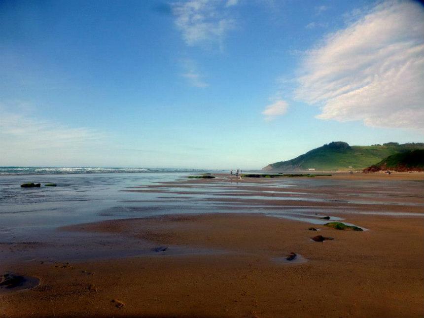 Vega beach in Ribadesella, Asturias