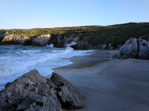 Playa de San Antonio, Costa Oriental de Asturias