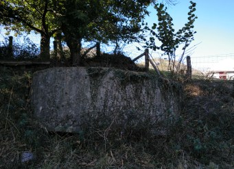 Nido ametralladoras de la Teyera en Arriondas, Asturias