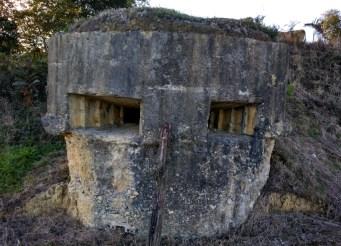 Nido ametralladoras, Bustio, Asturias