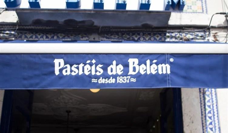 Pausa na Casa Pasteis de Belém - Lisboa