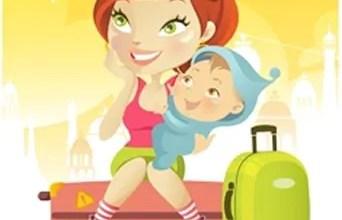 A experiência de viajar com um bebê!