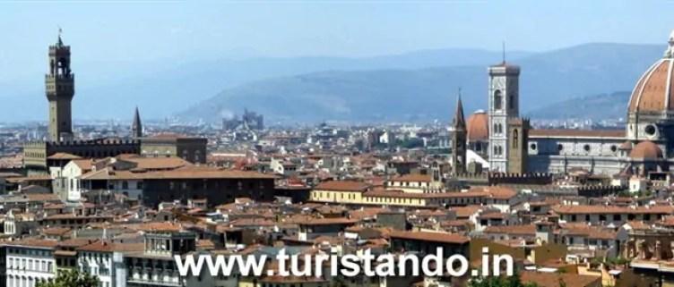 Firenze panoramica Oltrarno