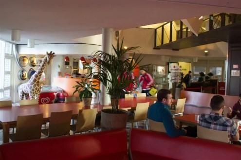 Nossa hospedagem no Hostel Stayokay de Roterdã