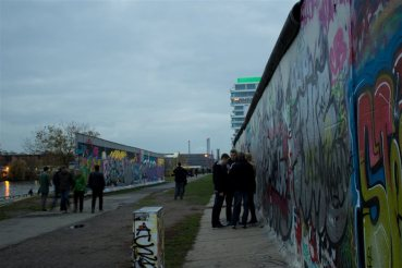 %name A East Side Gallery em Berlim