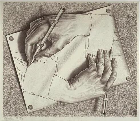 %name O divertido museu Escher in het Paleis em Haia