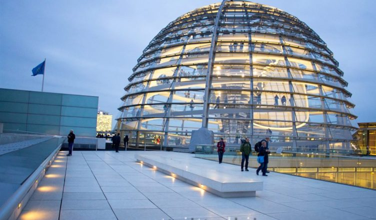 agendar visita ao Reichstag