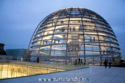 %name Como visitar a cúpula do Parlamento alemão   Reichstag em Berlim