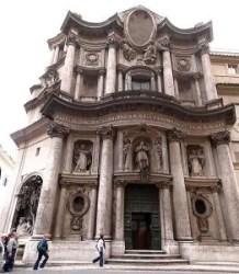 Chiesa di San Carlo alle Quattro Fontane (ou chiesa di San Carlino) na Roma Barroca