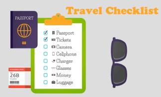 checklist de viagem 350x212 Checklist de viagem: o que fazer 1 semana antes de viajar
