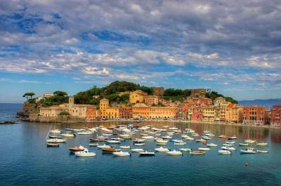 Sestri Levante Baia del Silenzio 350x232 Road Trip pelo litoral italiano: De Gênova à Cinque Terre