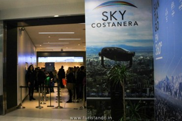 %name SKY Costanera em Santiago: Os Andes vistos do alto!