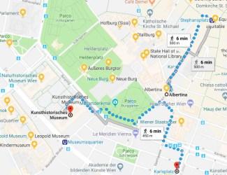 como chegar no museu albertina 325x250 Conhecendo o Museu Albertina em Viena #museumweek