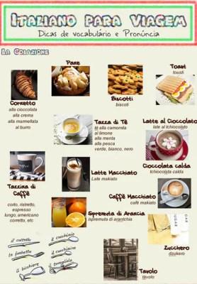 italiano para viagem2 278x400 Italiano para Viagem: O café da manhã na Itália